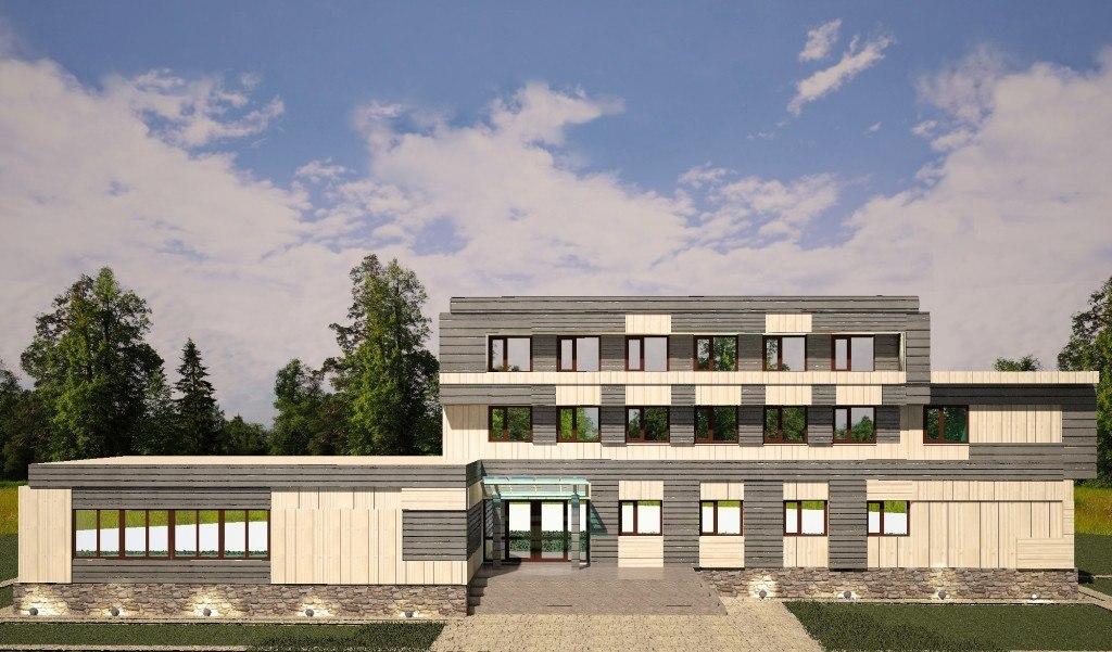 Модель фасада